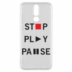 Etui na Huawei Mate 10 Lite Stop. Play. Pause.