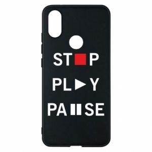 Etui na Xiaomi Mi A2 Stop. Play. Pause.