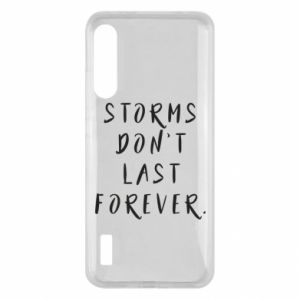 Etui na Xiaomi Mi A3 Storms don't last forever