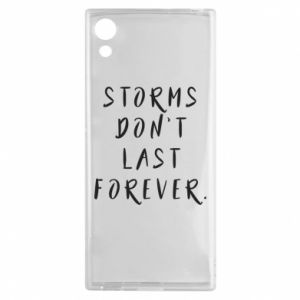 Etui na Sony Xperia XA1 Storms don't last forever