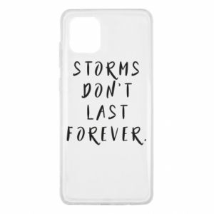 Etui na Samsung Note 10 Lite Storms don't last forever