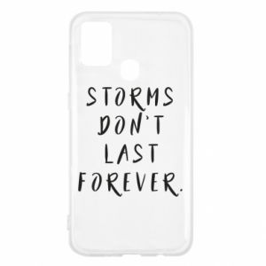Etui na Samsung M31 Storms don't last forever