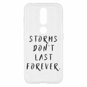 Etui na Nokia 4.2 Storms don't last forever