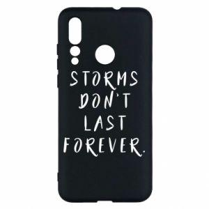 Etui na Huawei Nova 4 Storms don't last forever