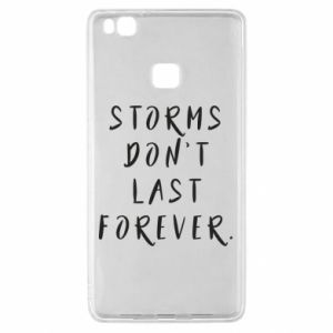 Etui na Huawei P9 Lite Storms don't last forever