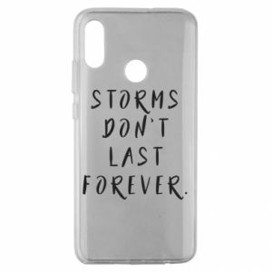Etui na Huawei Honor 10 Lite Storms don't last forever