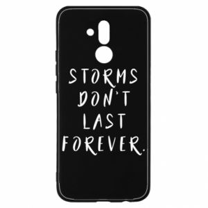 Etui na Huawei Mate 20 Lite Storms don't last forever