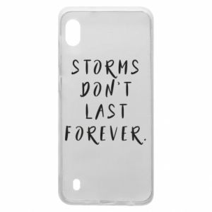 Etui na Samsung A10 Storms don't last forever