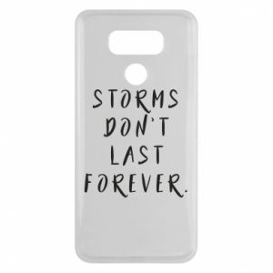 Etui na LG G6 Storms don't last forever