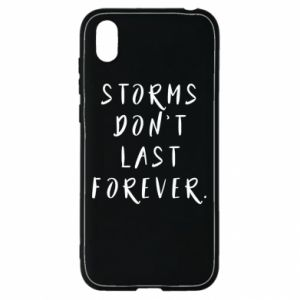 Etui na Huawei Y5 2019 Storms don't last forever