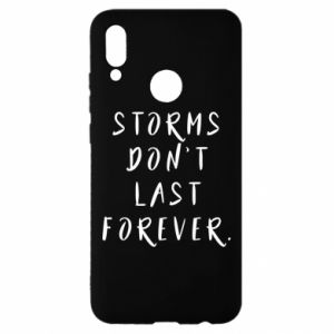 Etui na Huawei P Smart 2019 Storms don't last forever