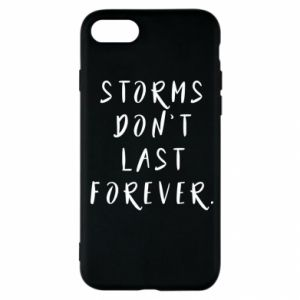 Etui na iPhone SE 2020 Storms don't last forever