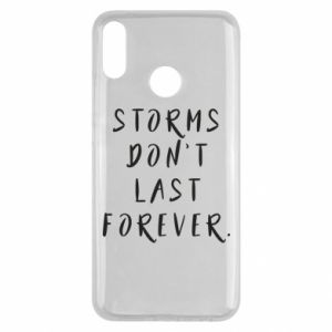 Etui na Huawei Y9 2019 Storms don't last forever