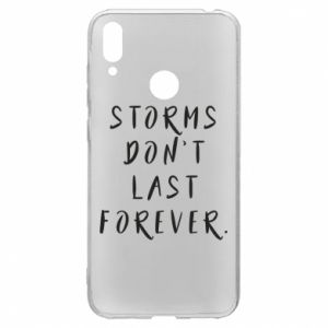 Etui na Huawei Y7 2019 Storms don't last forever
