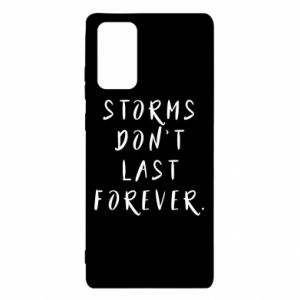 Etui na Samsung Note 20 Storms don't last forever
