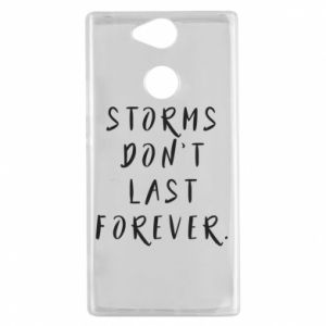 Etui na Sony Xperia XA2 Storms don't last forever