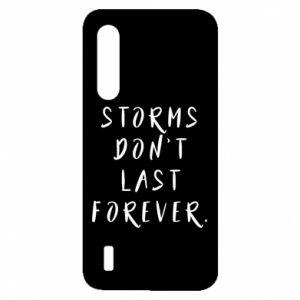Etui na Xiaomi Mi9 Lite Storms don't last forever