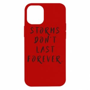 Etui na iPhone 12 Mini Storms don't last forever