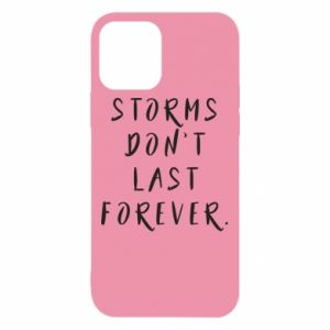 Etui na iPhone 12/12 Pro Storms don't last forever
