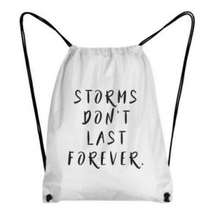 Backpack-bag Storms don't last forever