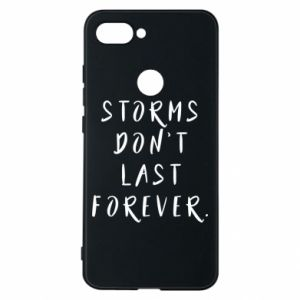 Phone case for Xiaomi Mi8 Lite Storms don't last forever