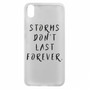 Phone case for Xiaomi Redmi 7A Storms don't last forever