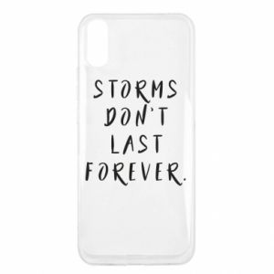Etui na Xiaomi Redmi 9a Storms don't last forever