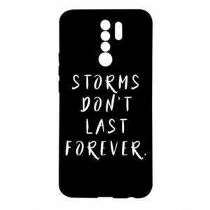 Etui na Xiaomi Redmi 9 Storms don't last forever