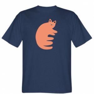 T-shirt Strange ginger cat