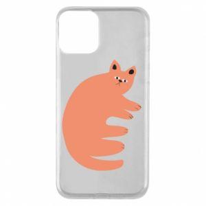 Etui na iPhone 11 Strange ginger cat