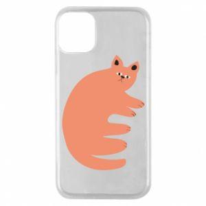 Etui na iPhone 11 Pro Strange ginger cat