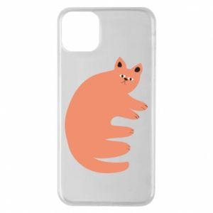 Etui na iPhone 11 Pro Max Strange ginger cat