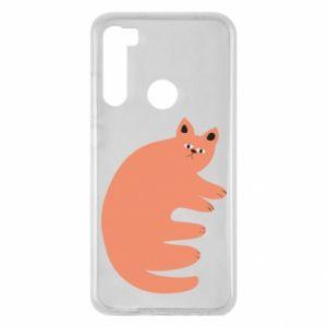 Etui na Xiaomi Redmi Note 8 Strange ginger cat