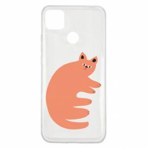 Etui na Xiaomi Redmi 9c Strange ginger cat