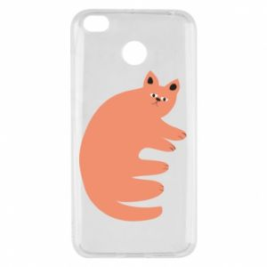 Etui na Xiaomi Redmi 4X Strange ginger cat