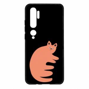 Etui na Xiaomi Mi Note 10 Strange ginger cat