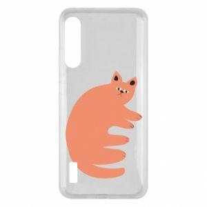 Etui na Xiaomi Mi A3 Strange ginger cat