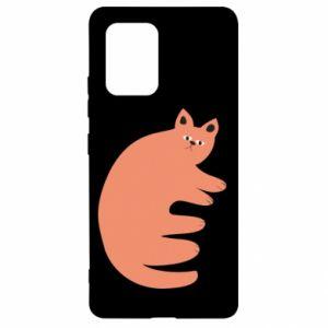 Etui na Samsung S10 Lite Strange ginger cat