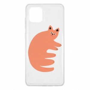 Etui na Samsung Note 10 Lite Strange ginger cat