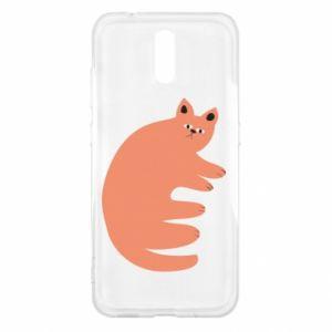 Etui na Nokia 2.3 Strange ginger cat