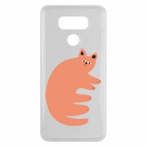 Etui na LG G6 Strange ginger cat