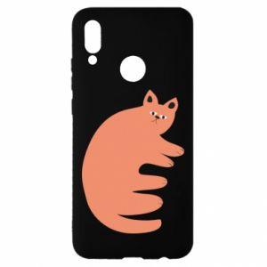 Etui na Huawei P Smart 2019 Strange ginger cat