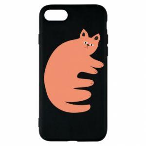 Etui na iPhone SE 2020 Strange ginger cat