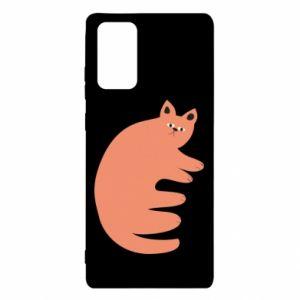 Etui na Samsung Note 20 Strange ginger cat