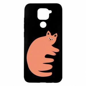 Etui na Xiaomi Redmi Note 9/Redmi 10X Strange ginger cat