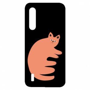 Etui na Xiaomi Mi9 Lite Strange ginger cat