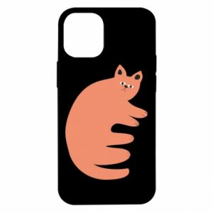 Etui na iPhone 12 Mini Strange ginger cat