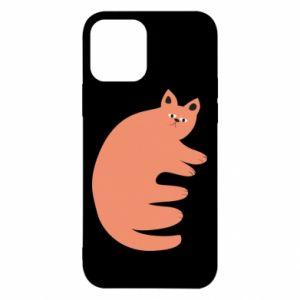 Etui na iPhone 12/12 Pro Strange ginger cat