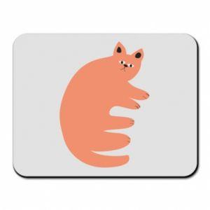 Podkładka pod mysz Strange ginger cat