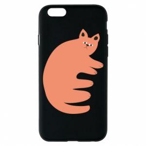 Etui na iPhone 6/6S Strange ginger cat